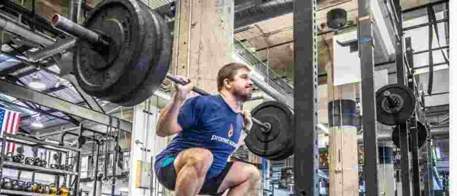 Andrew Kucharski at CrossFit