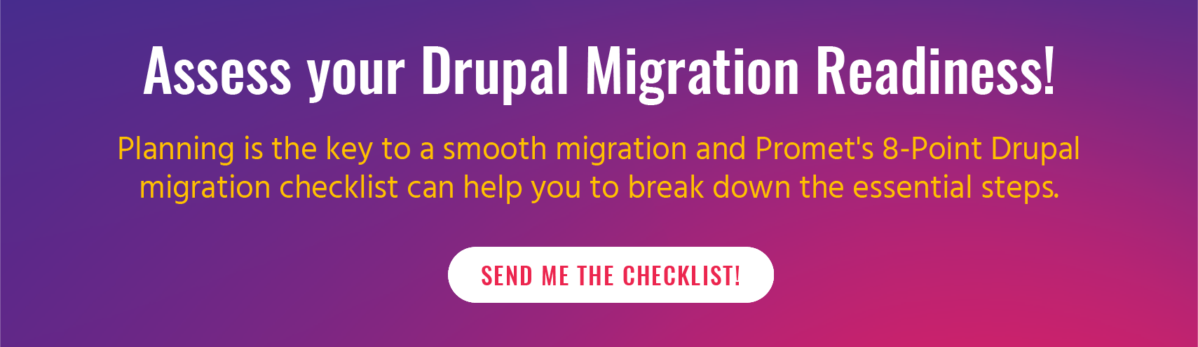 Drupal 9 migration readiness checklist