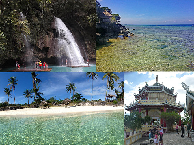 Image of Cebu's tourist destinations