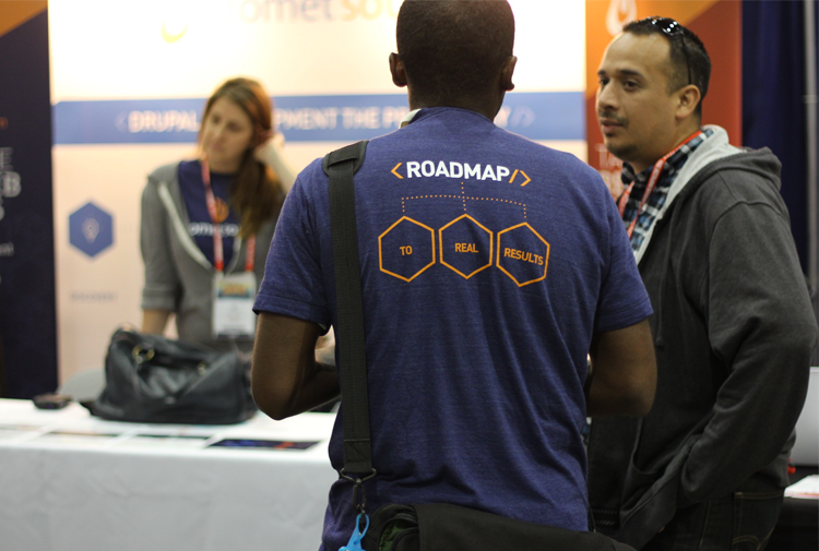 Promet Source had more than a dozen team members in attendance for DrupalCon LA