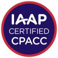 IAAP Certified CPACC badge