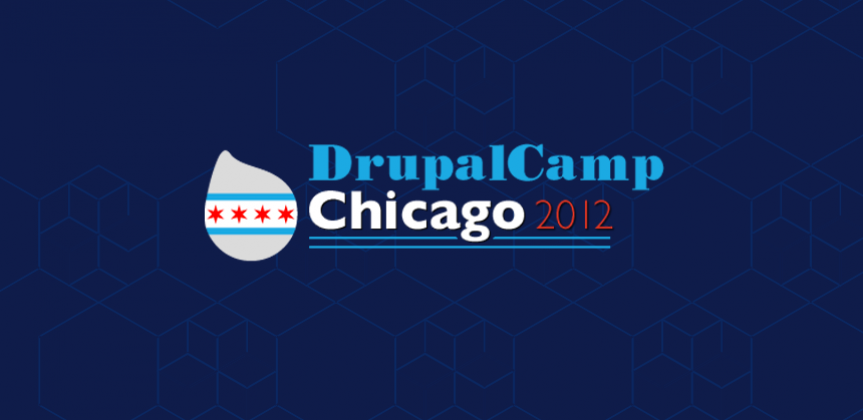 Drupalcamp Chicago 2012 logo