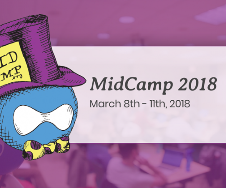 MidCamp 2018 logo