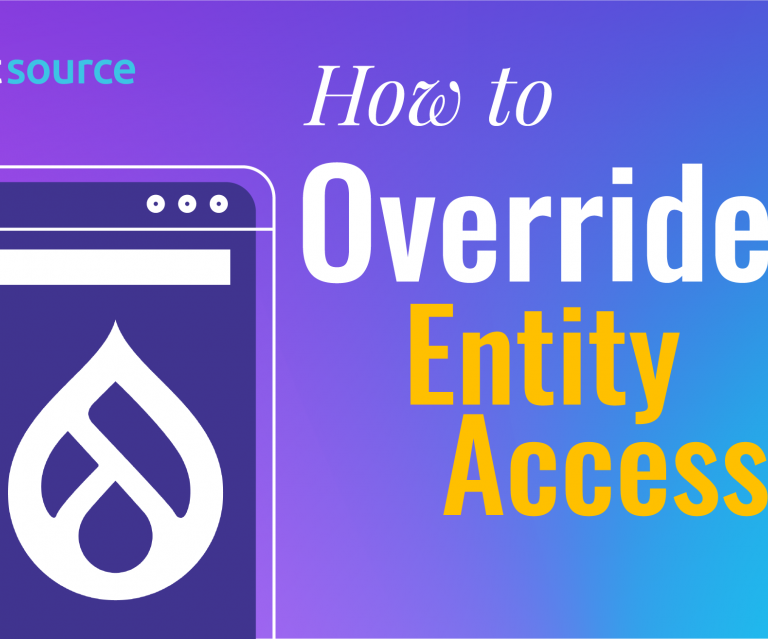 How to Override Entity Access Handler in Drupal