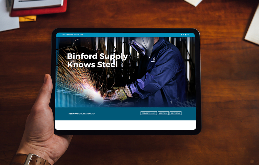 Binford supply Website
