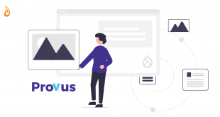 Provus drag and drop content editing